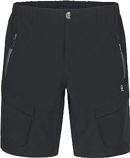 Little Donkey Andy - Pantaloncini cargo da uomo, elasticizzati, ad asciugatura rapida, per escursionismo, campeggio, viaggi