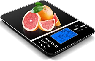 IDAODAN Smart Food Scale with Perfect Portions Nutritional Facts Display, Digital Nutrition Kitchen Scale - Accurate Food ...