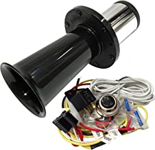 OEMLINK International LTD OOGA Horn Black Antique Classic Car Hot Rod Oooga Ahooga with Installation Wire Kit and Button