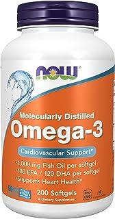 Now Foods Omega-3 200 Perle - 250 Gr