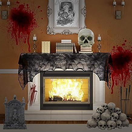 Amazon com: Halloween Tablecloths