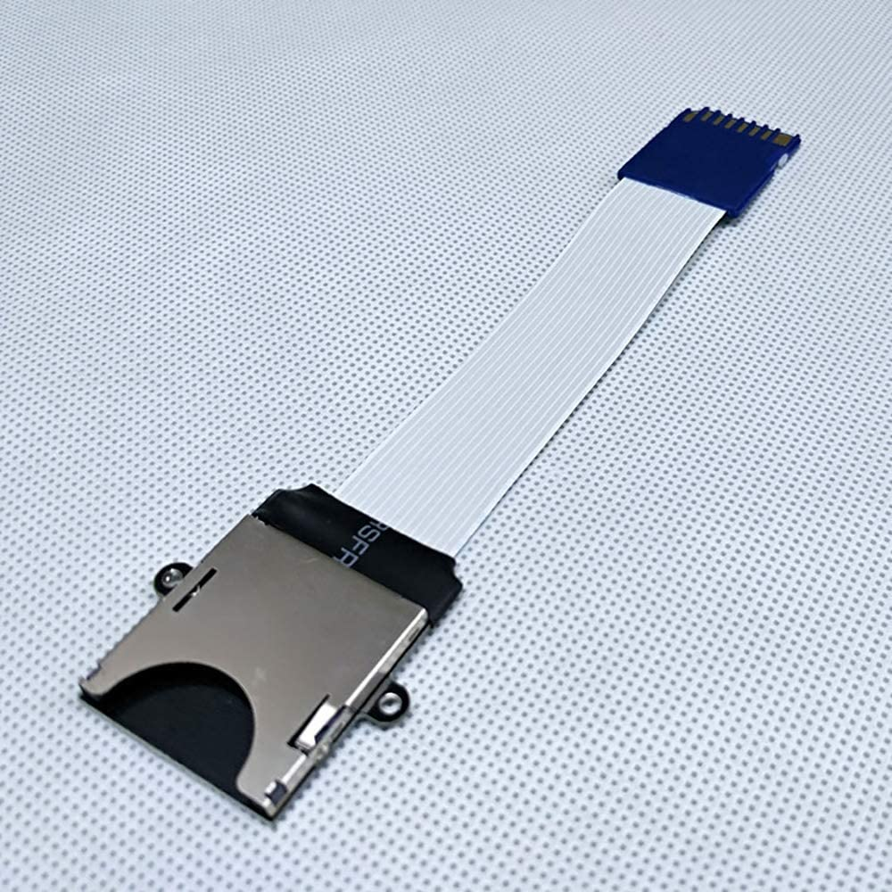 Velidy SD to SD Card Extension Cable Adapter Flexible Extenders MicroSD To SD//SDHC//SDXC 48CM