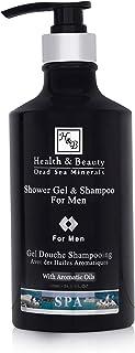 H&B Men's Body Wash Shower Gel Men's Shampoo Body Skin Care Body Soap Dead Sea