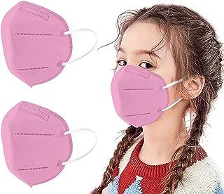 MaNMaNing Niños Protección 20-100 Unidades con Elástico para Los Oídos 20210121-MANIN-K009 (Rosado 20PC)