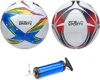 Xcello Sports Soccer Balls - Size 3, 4, or 5 - Two Unique...