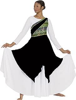 Eurotard 63567 Adult Joyful Praise Asymmetrical Tunic