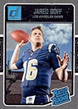Jared Goff 2016 Donruss Mint Rated Rookie Card #372 Picturing this Los Angeles Rams Star in His Blue Jersey
