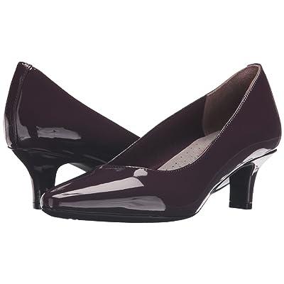 Rockport Kimly Kirsie Pump (Dark Vino Patent Leather) Women