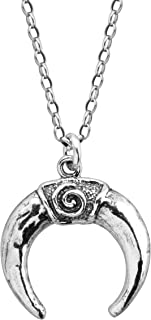 Silpada 'Star-Crossed' Crescent Horn Pendant Necklace in Sterling Silver