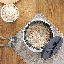 N/U Huishoudelijke keuken rijstkoker Multifunctionele magnetron rijstkoker met filterdeksel, kan rijstlepel opslaan, gesch...