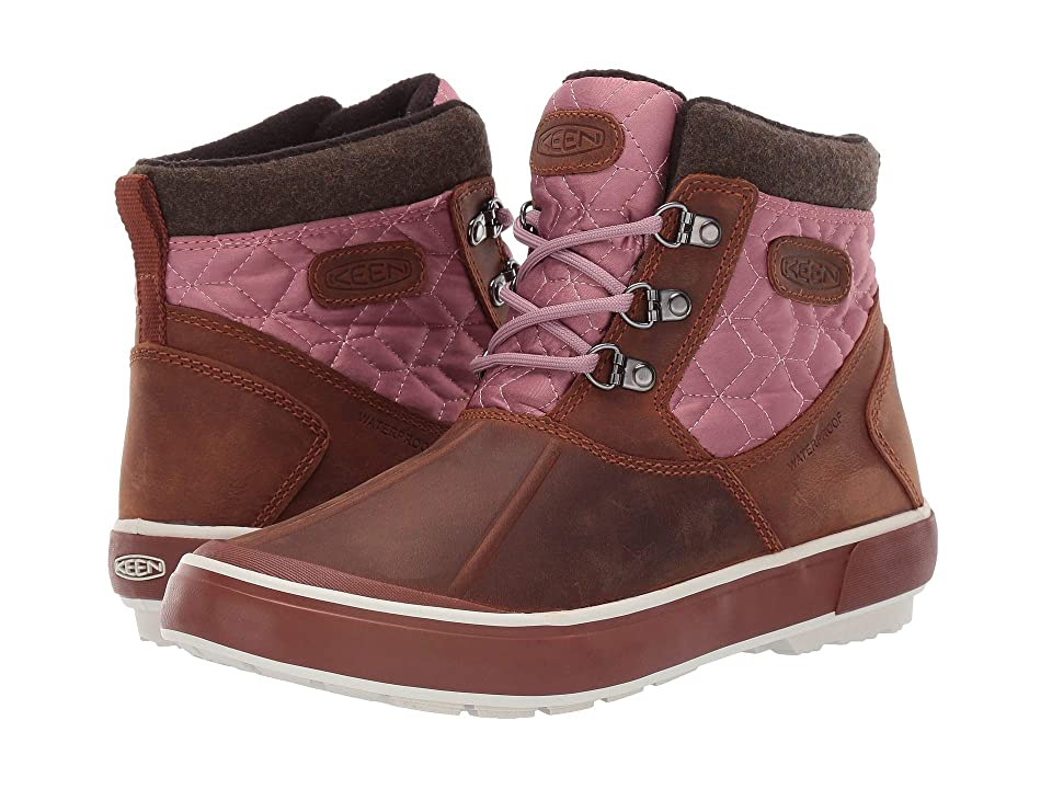 Keen Elsa II Ankle Quilted WP (Tortoise Shell/Nostalgia Rose) Women