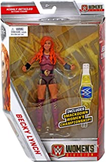 Wrestling WWE Mattel Elite Collection Becky Lynch Action Figure with Smackdown Women's Championship Belt …