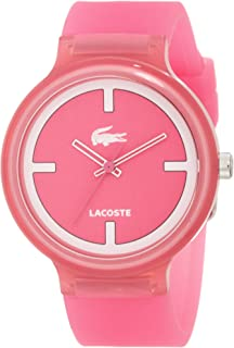 Lacoste Unisex 2020025 GOA Pink Silicone Watch