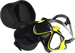 "Navitech Lime Green Dive Scuba Diving Mask with Mount Compatible with The ieGeek WiFi 2.0"" inch 1080P Full HD Sport Action..."