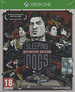 Square Enix Sleeping Dogs Definitive Edition, Xbox One - video games (Xbox One, Xbox One, Action / Adventure, United Front...
