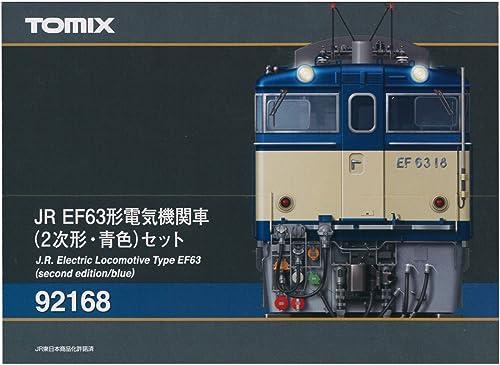 J.R. Electric Locomotive Type EF63 (Second Edition, Blau) (2-Car Set) (Model Train)