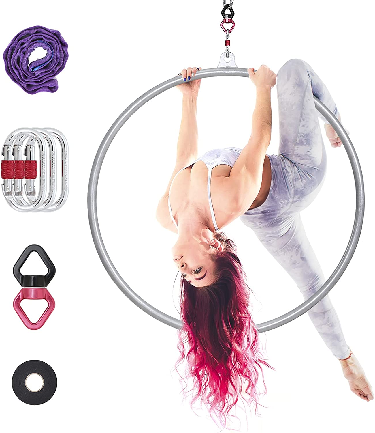 PRIORMAN Lyra Hoop - Aerial Super popular specialty store Steel Set Rigging Limited time cheap sale with