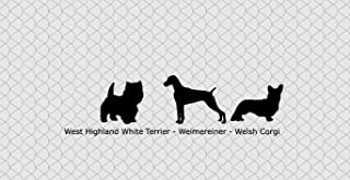 West Highland White Terrier, Weimereiner, Welsh Corgi Cake Topper Add-On or Cupcake Topper. Your Breed.