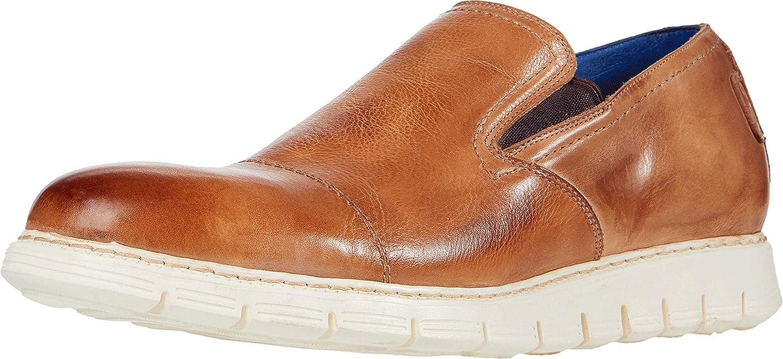 Bed|Stu Kastor Mens Leather Loafer Shoe