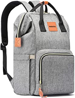 HaloVa Diaper Bag, Multi-Functional Portable Travel Backpack Nappy Bags for Baby Care,..