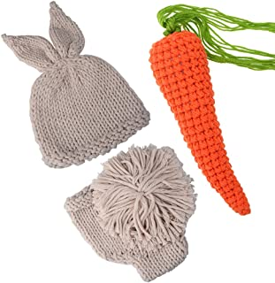 knitted bunny outfit
