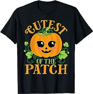 Cutest Pumpkin of the Patch Matching Women Girls Halloween T-Shirt
