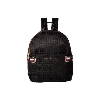 Tommy Hilfiger Meriden Backpack (Black/Tonal) Backpack Bags