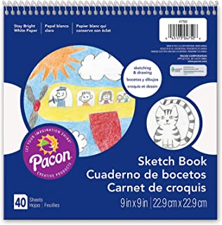 Pacon PAC4750 Sketch Book, 9