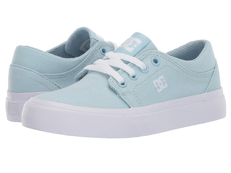 DC Kids Trase TX (Little Kid/Big Kid) (Powder Blue) Girls Shoes