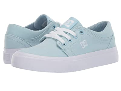 DC Kids Trase TX (Little Kid/Big Kid) (Powder Blue) Girls Shoes