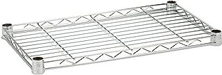 Honey-Can-Do SHF350C1848 Steel Wire Shelf for Urban Shelving Units, 350lbs Capacity, Chrome, 18Lx48W