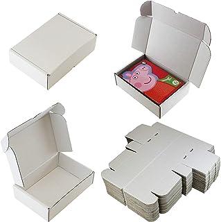 10 cajas blancas C5 A5 de presentación de envío ? 25 cm x 17,5 cm x 7,5 cm ? 10 pulgadas x 7 pulgadas x 3 pulgadas ? para: tarjeta de foto postal foto Perfume Crafts Candle ?