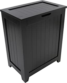 Redmon 5220BK Contemporary Country Hamper, Black