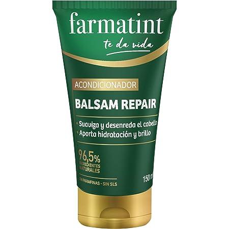 Farmatint Acondicionador, 96.5% ingredientes naturales, suaviza y desenreda el cabello, sin parafinas, sin SLS - 150 ml