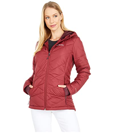 Columbia Heavenly Hooded Jacket (Marsala Red) Women