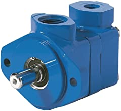 Vickers V20 Series Single Vane Pump, 2500 psi Maximum Pressure, 8 gpm Flow Rate, 0.40 cubic-inch/rev Displacement, Left Hand Shaft Rotation, 1-5/16