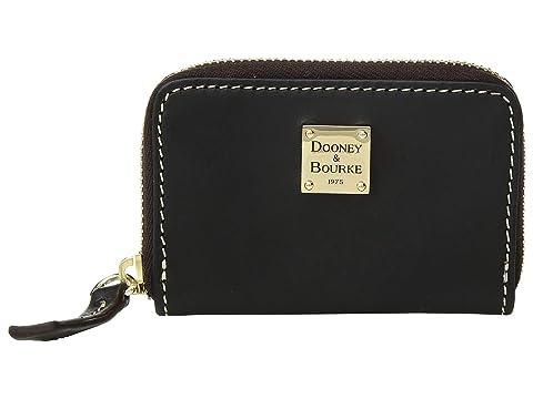 Dooney Bourke Beacon Zip Around Credit Card Case At
