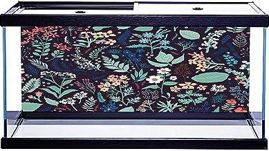 Adhesivo decorativo para tanque de peces, diseño elegante, autoadhesivo, 76,2 x 30,5 cm