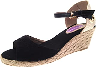 6f0aa6256a Amazon.co.uk: Wedge - Sandals / Women's Shoes: Shoes & Bags