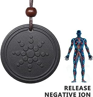 Anti EMF Radiation Protection Shield Necklace - Negative Ions + Scalar Energy Orgone Pendant