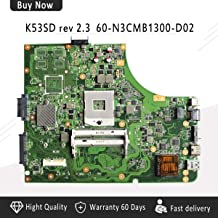 FidgetGear K53SD A53E K53E REV 2.3 HDMI Laptop Motherboard 60-N3CMB1300-D02