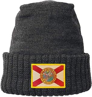 Homeland Tees Florida State Flag Patch Cuff Beanie 9531a191a4d