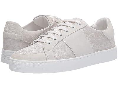 Etro Paisley/Suede Tennis Sneaker (White) Men