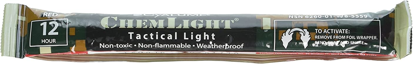 product image for Emergency Light Sticks, 6, Lasts 12 Hours, 10/BX, Red
