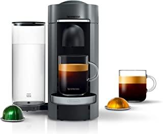 Nespresso Vertuo Plus Coffee and Espresso Maker by De'Longhi, Titan