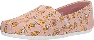 Women's Bobs Plush-Monday Moods. Garfield Slip on Ballet Flat