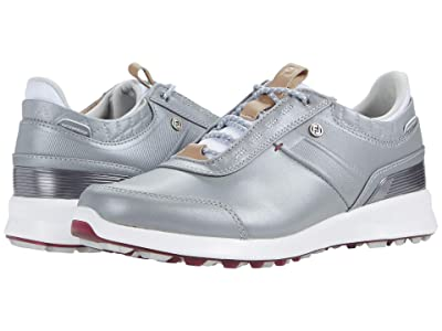 FootJoy Stratos Spikeless Luxury Casual (Pearl Grey) Women