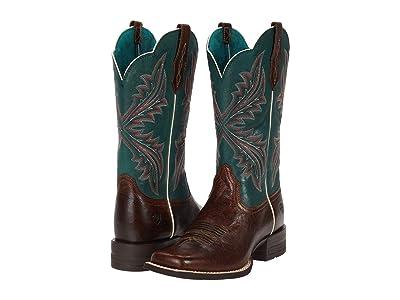 Ariat West Bound (Brown Patina/Blue Grass) Cowboy Boots