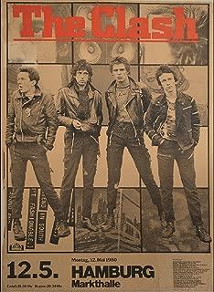 Annex City Rockers Punk Rock Music The Clash Concert Band Gig Flyer Poster Art Print