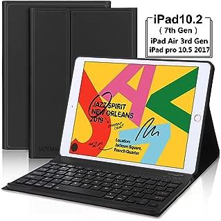 for iPad 7th Generation Keyboard Case 10.2 2019- Detachable Smart Magnetical Wireless Bluetooth Keyboard- iPad Case with Keyboard for iPad 10.2 Inch 7th Generation 2019 –Black